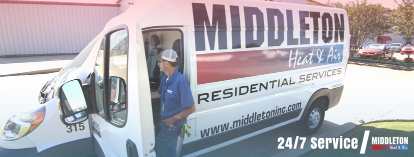 24/7 Service Call at Middleton Heat and Air