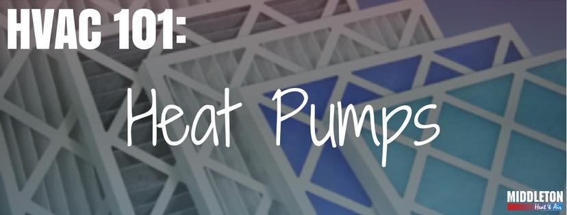 HVAC 101- Heat Pumps. Middleton Heat and Air