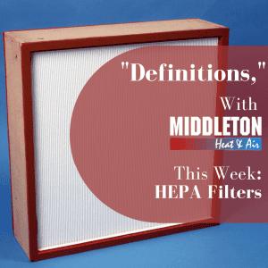 HEPA Filter Definition