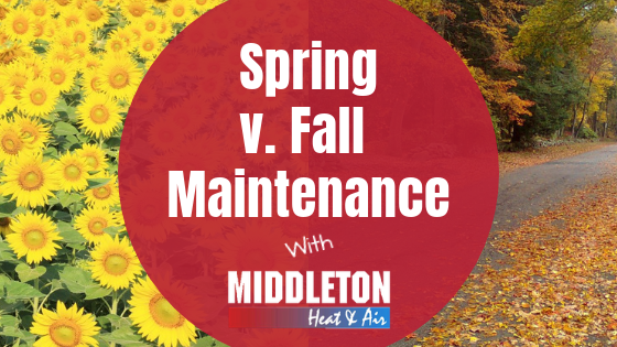 Spring v. Fall Maintenance with Middleton