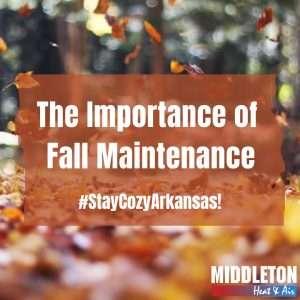 Importance of Fall Maintenance